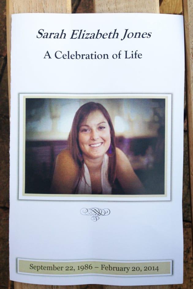 Sarah Jones Memorial