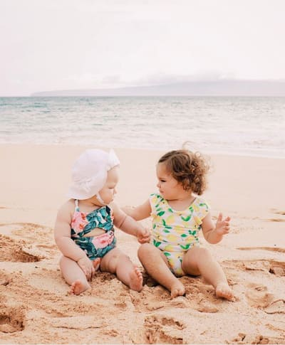 Ember Jean and a Friend in Maui