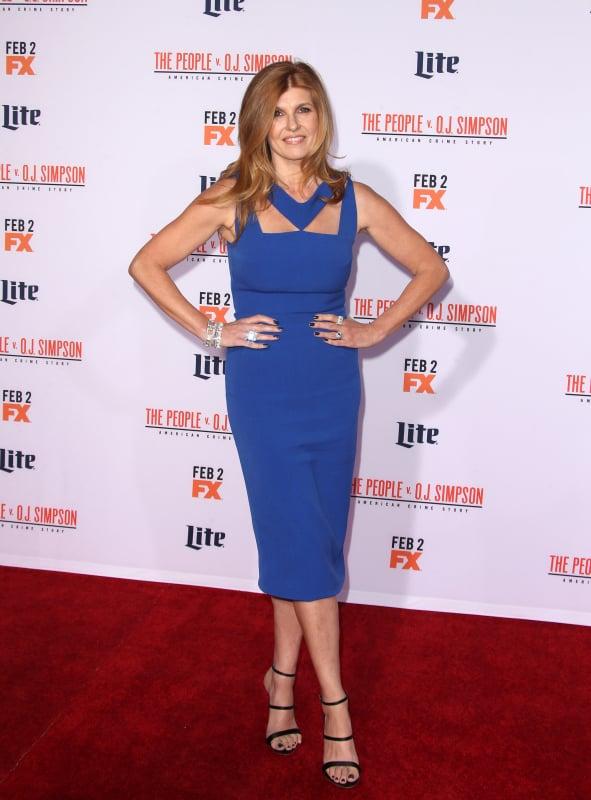 Connie Britton: 'American Crime Story - The People V. O.J. Simpson' Premiere