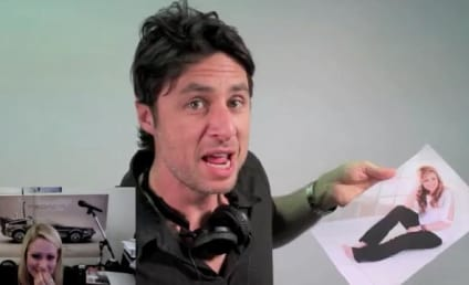 Zach Braff, Bunny Help Man Propose to Girlfriend