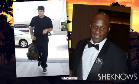 Rob Kardashian Seeks Help from Lamar Odom
