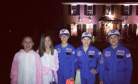 Kate Gosselin's Kids in Halloween