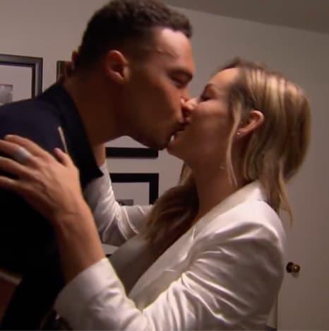 Clare Crawley Kisses Dale