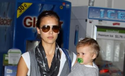 Jessica Alba and Baby Honor Marie Out in Hollywood