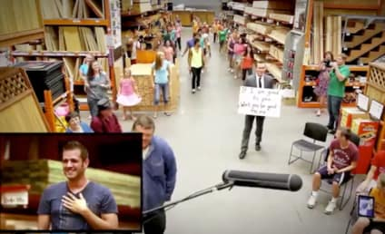 Man Proposes to Boyfriend Via Home Depot Flash Mob
