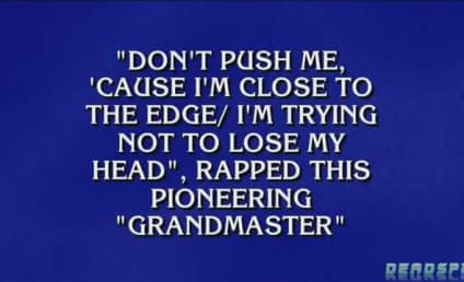 Alex Trebek Raps Jeopardy Category, Makes Like Dr. Dre