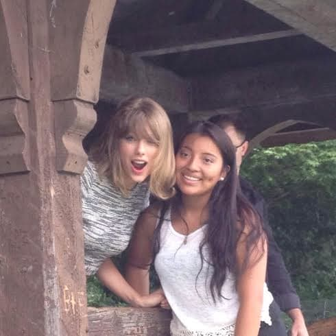 Taylor Swift and Fan