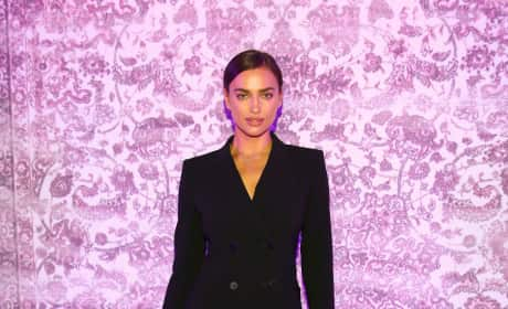 Irina Shayk: Mercedes Benz Fashion Week Berlin