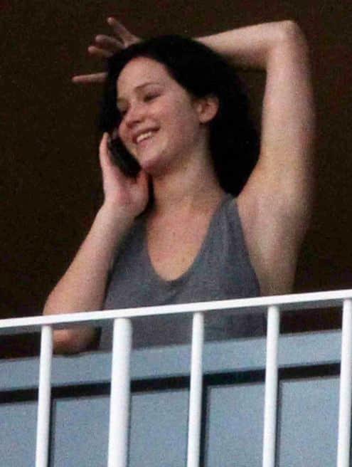 Jennifer Lawrence Without Makeup