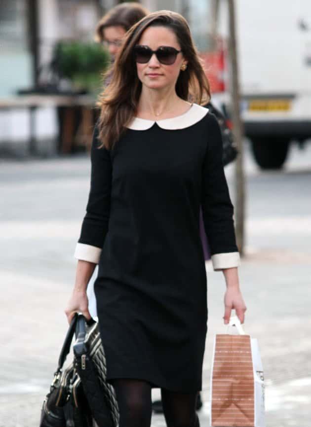 Pippa Middleton in Black