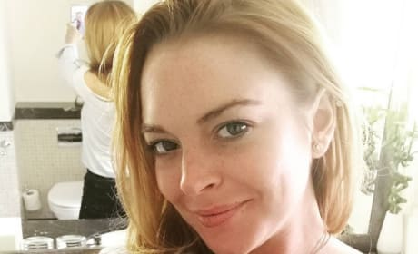 Lindsay Lohan Looks Happier These Days