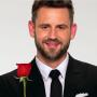 Nick Viall with a Rose