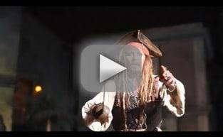 Johnny Depp Pops Up On Pirates Ride as Captain Jack, Stuns Fans at Disneyland!