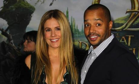 CaCee Cobb, Donald Faison Photo