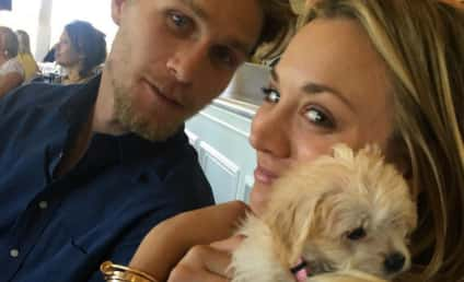 """Kaley Cuoco: """"So Happy"""" With Beau Karl Cook, Not Engaged...Yet"""