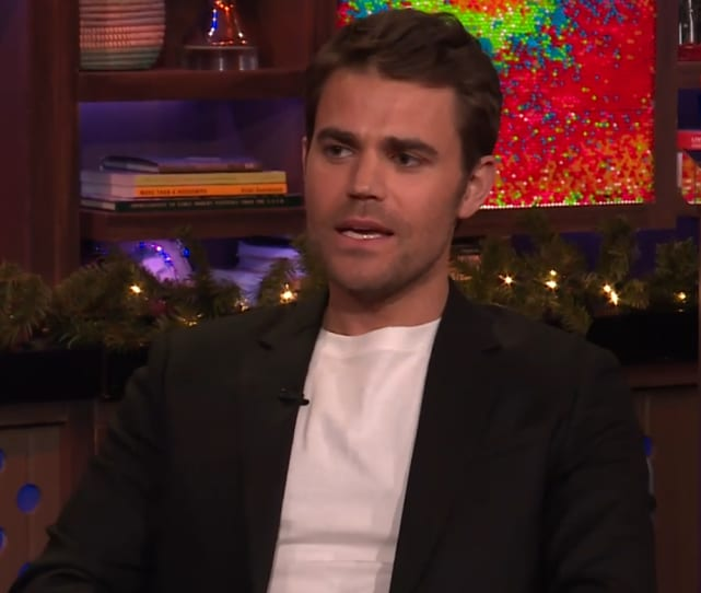 Paul wesley speaks on wwhl