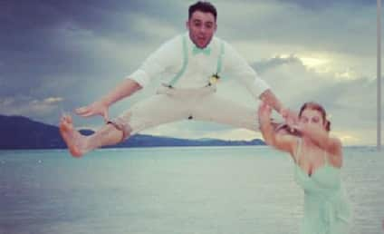 Groomsman Kicks Bridesmaid in Head, Rips Pants in Epic Wedding Photo