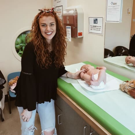 Audrey Roloff at the Doctor's