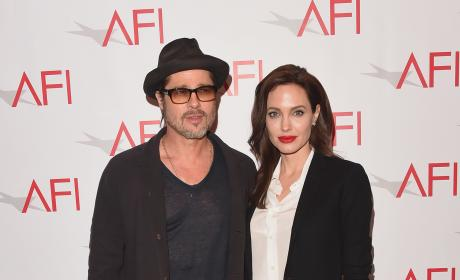 Brad Pitt Angelina Jolie 2015 AFI Awards