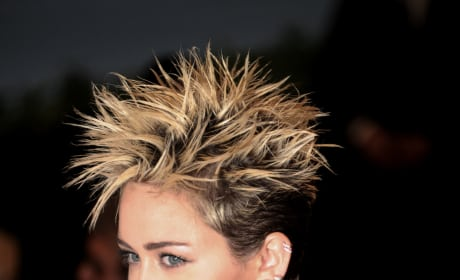 Miley Cyrus Goes Punk