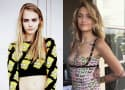 Paris Jackson and Cara Delevingne: Spotted Locking Lips!