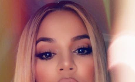 Khloe Kardashian on the Instagram