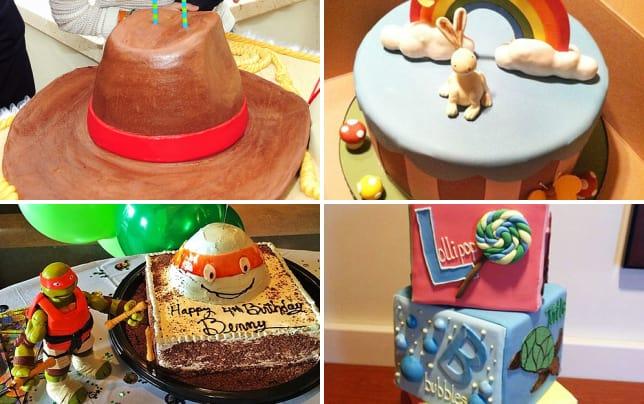 The Best Celebrity Cakes - Craziest Celeb Birthday Cake ...