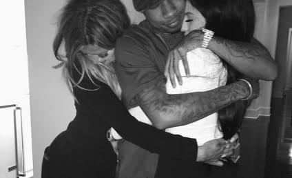 Khloe Kardashian Embraces Tyga and Kylie Jenner