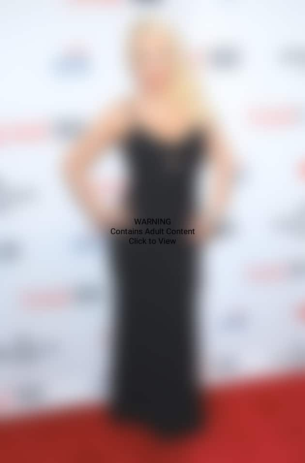 Christina Aguilera with Cleavage