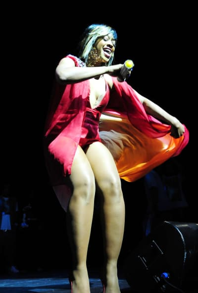 Trina on Stage