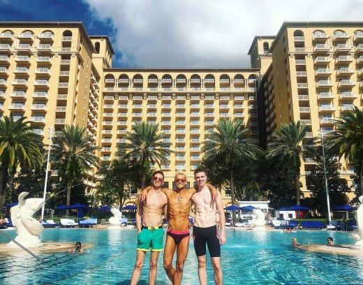 Frankie Grande, Daniel Sinasohn, and Mike Pophis pic