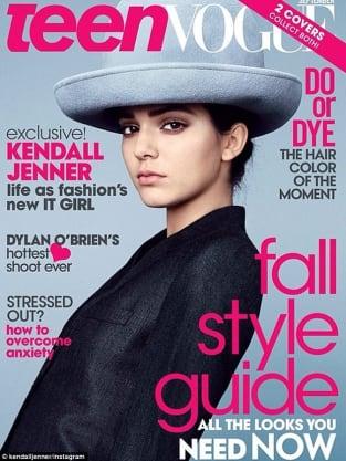 Kendall Jenner for Teen Vogue