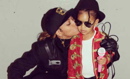 Beyonce and Blue Ivy Dress as Janet and Michael Jackson, Likely Win Halloween