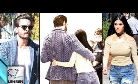 Kourtney Kardashian and Scott Disick Get Friendly