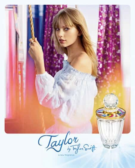 Taylor Swift Perfume Pic