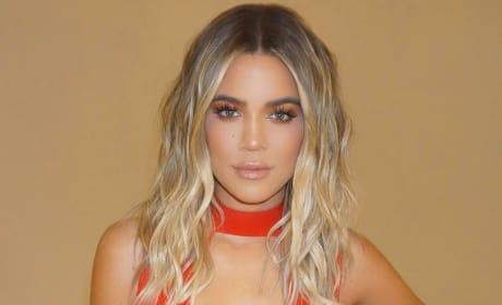 Khloe Kardashian: Ravishing in Red