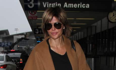 Lisa Rinna Spotted at LAX