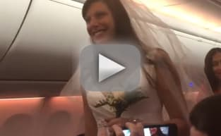 Couple Gets Married on Southwest Airlines Flight: Watch!
