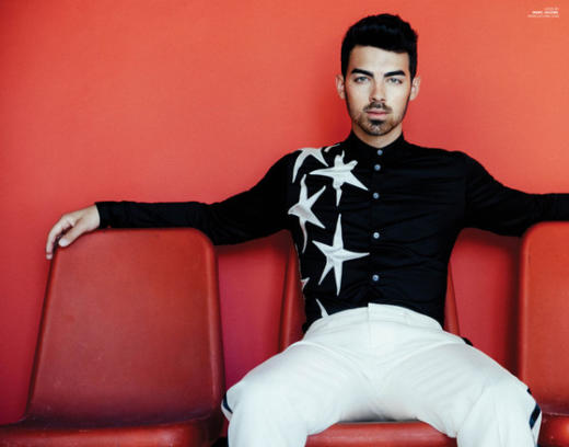 Joe Jonas in Scene