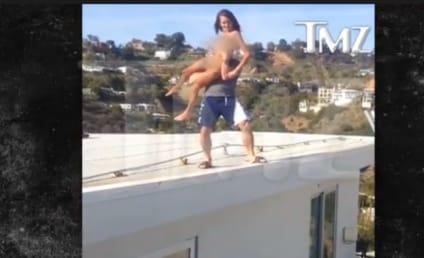 Dan Bilzerian Throws Porn Star Off Roof: Watch the Crazy Footage!