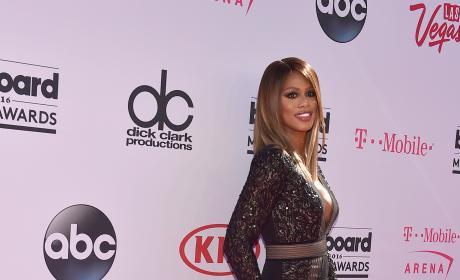 Laverne Cox at the Billboard Music Awards