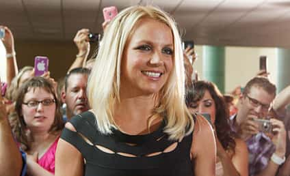 """Britney Spears Walks Off X Factor Set Again as Drag Queen Covers """"(You Drive Me) Crazy"""""""