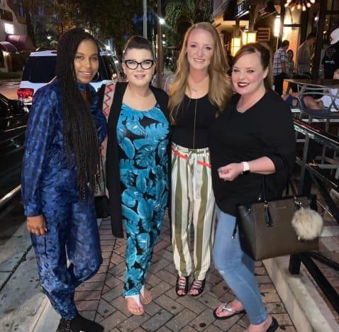 Maci, Catelynn, Amber, and Cheyenne