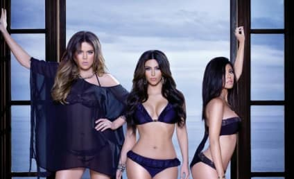 Kim, Khloe and Kourtney Kardashian Model Swimwear, Pose for Your Vote