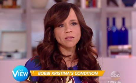 Rosie Perez Speaks on Bobbi Kristina