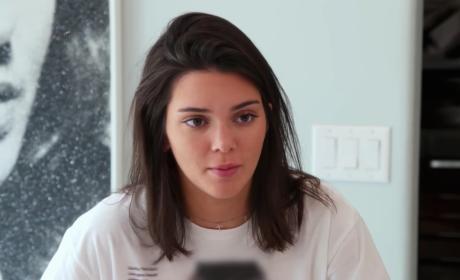 Kendall Jenner on KUWTK