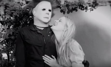 Boyfriend Stages Michael Myers-Inspired Proposal, Shocks Girlfriend