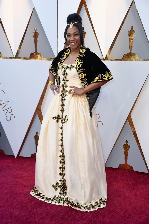 Tiffany Haddish at 2018 Oscars