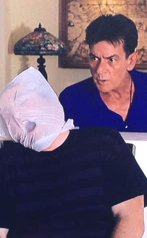 Charlie Sheen Abduction Photo