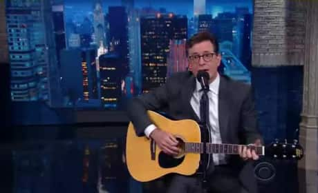 Stephen Colbert Mourns End of Hiddleswift